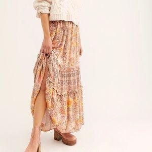 Spell Amethyst Maxi Skirt